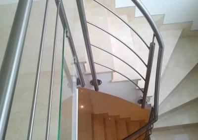 Escalier inox excellence alu