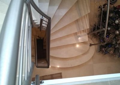 escalier inox metal bas rhin